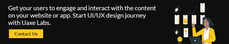 Start UI/UX design journey with Uaxe Labs