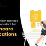 UI design for healthcare app